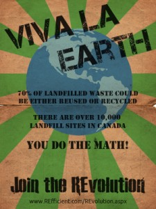 REfficient REvolution Viva La Earth